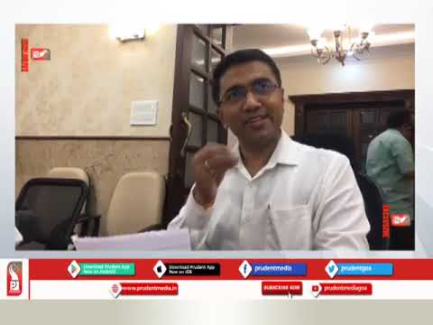 GOVT OFFICES TO OPERATE FROM APRIL 13: CM_Prudent Media Goa