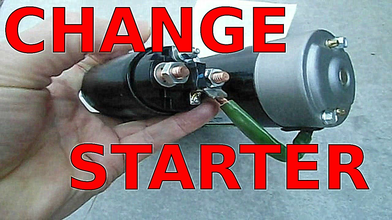 How To Replace Starter Fast Fix No Start Starting Problems Gm 31 Buick Grand National Wiring Youtube Premium