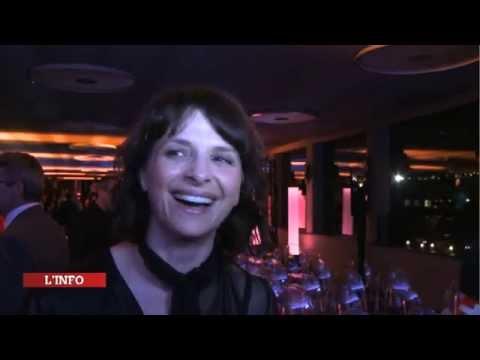 Qatar Prix de l'Arc de Triomphe 2014 - Conférence de Presse avec Juliette Binoche