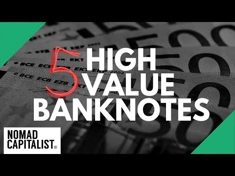 The Largest Banknotes In The World For Storing Cash