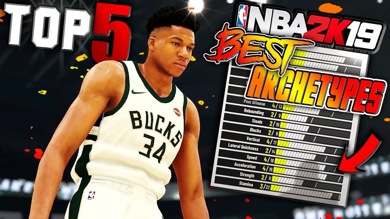 TOP 5 MUST BUILD DUAL ARCHETYPES in NBA 2K19