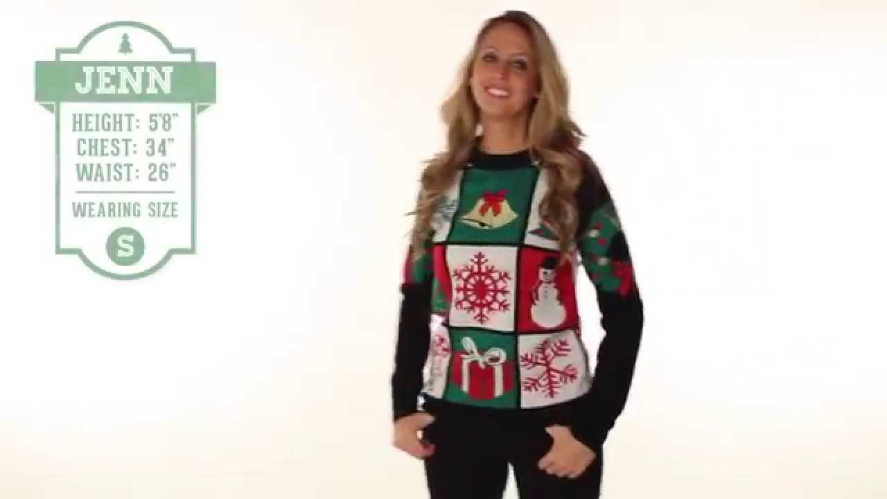 Ugly Christmas Sweater - Ugly Patchwork Sweater by Tipsy Elves - YouTube