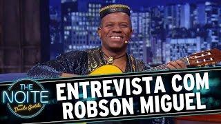 The Noite (17/11/15) - Entrevista com Robson Miguel