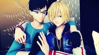 【Yuri On Ice MMD】 Hi-Fi Raver 『Yuuri and Yuri』