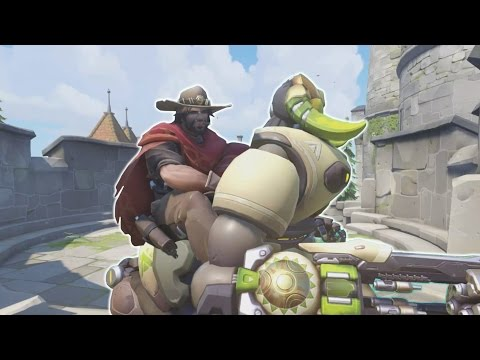 Overwatch - Riding the Noob