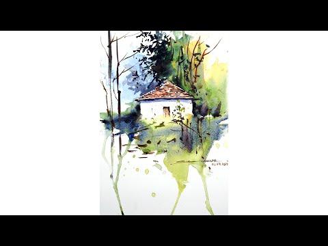 Basic watercolor Landscape