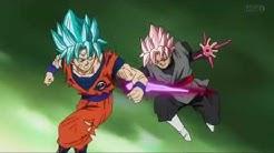 Dragon Ball Super Episode 57 - Goku & Trunks VS Zamasu & Black - part 01 (with DBZ OST & SFX)