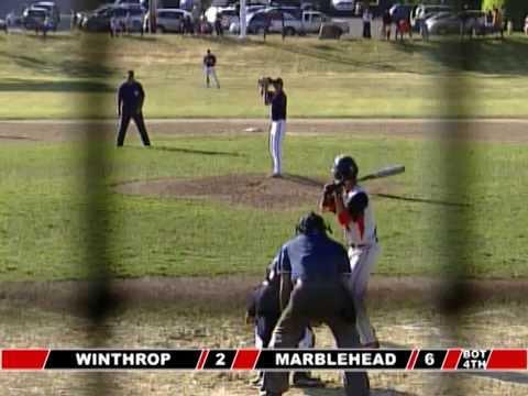 Jess Burton Color Commentator: Baseball Winthrop @ Marblehead 5-27-15