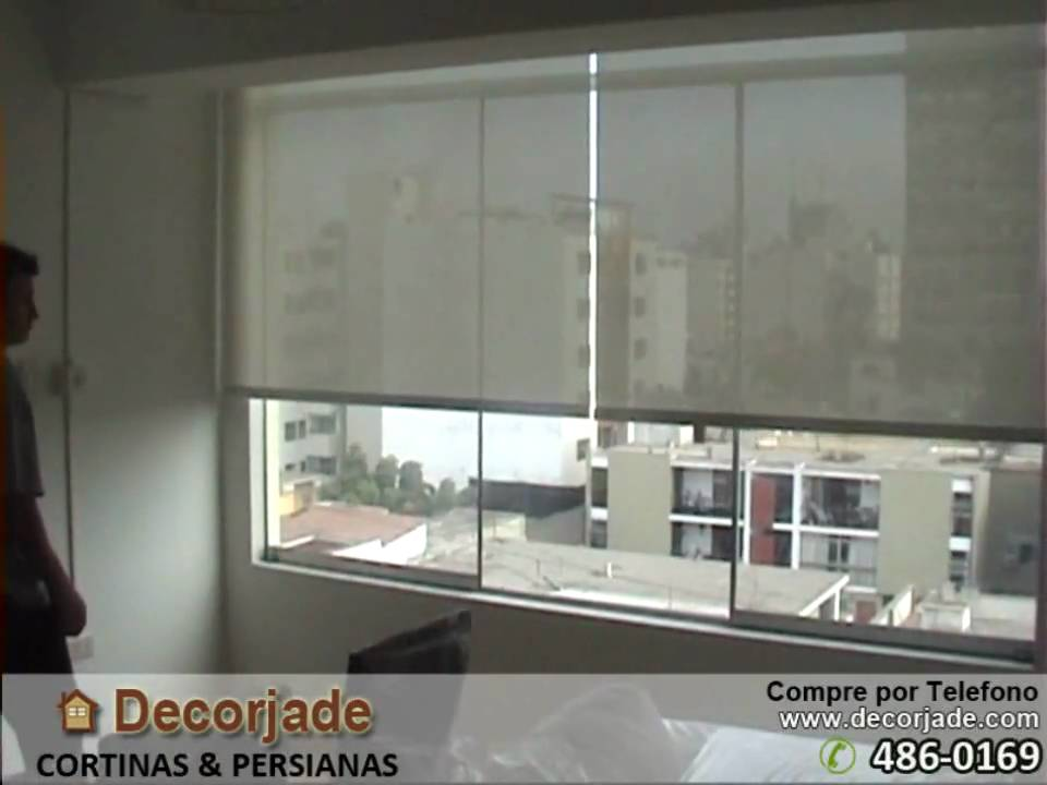 Cortinas roller motorizadas cortinas roller el ctricas for Cortinas black out precios