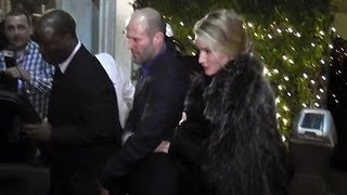 Jason Statham And Rosie Huntington-Whiteley Celebrate Valentine's Day At Mr. Chow