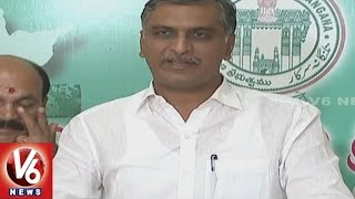 minister harish rao criticizes opposition over ts gdp and gsdp growth rate   v6 news