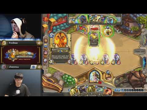 Checking in with FroStee – Australia's Hearthstone