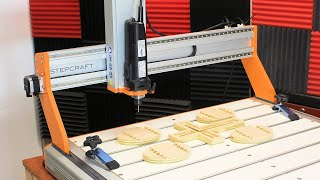 Testing out the StepCraft M1000 - Definitely NOT your Average CNC