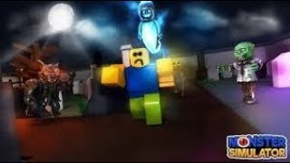 Killing monsters!!!! (roblox)