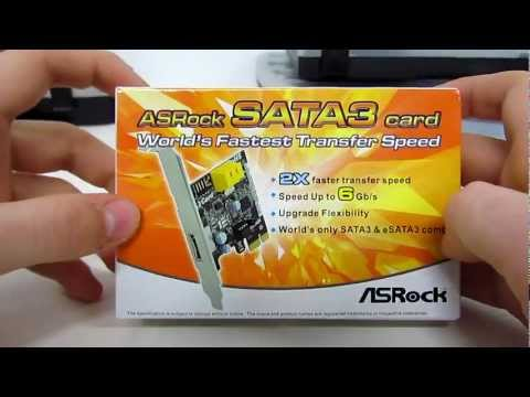 #0008 - ASRock SATA III PCIe Card - Unboxing