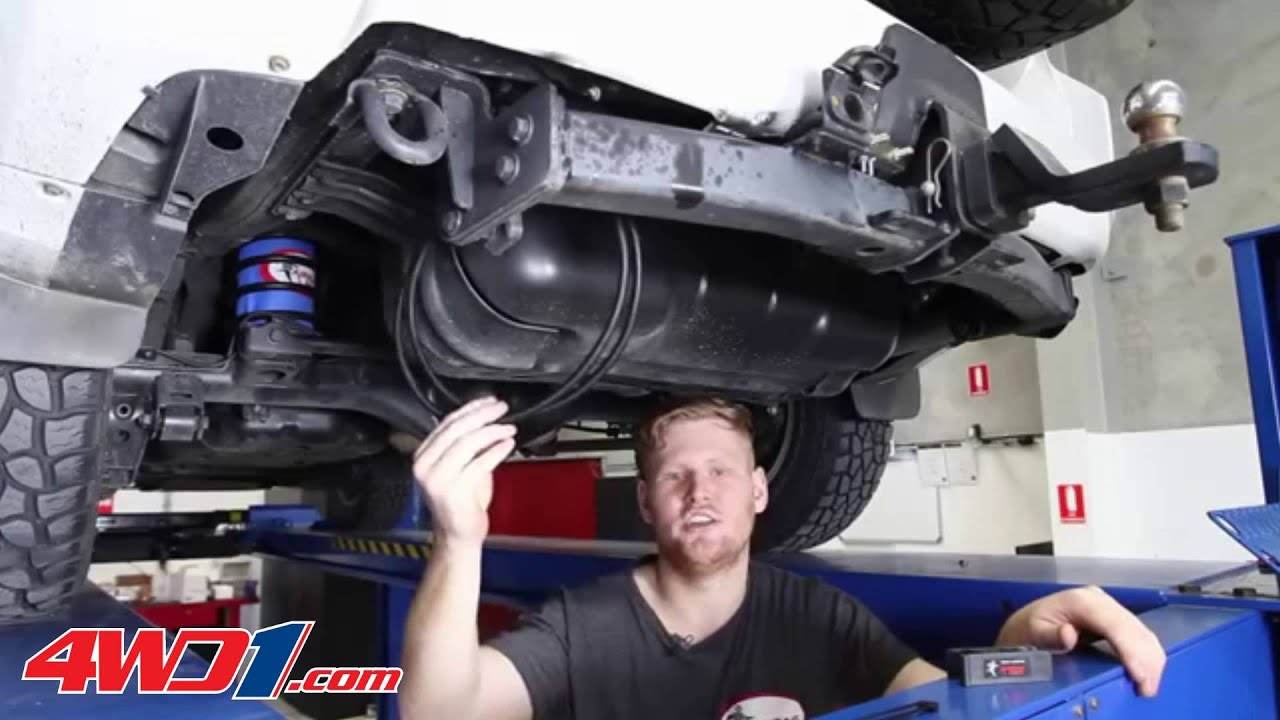 Toyota Prado 150 120 Series Airbag Suspension Installation
