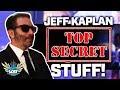 """Overwatch - Working on """"TOP SECRET Stuff"""" - Jeff Kaplan"""