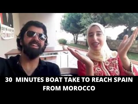 MOROCCAN GIRL HAJAR IS TELLING ABOUT LIFE IN MOROCCO ! SPAIN IS JUST 30 MINS BOAT RIDE FROM MOROCCO!