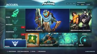 PALADIN TEST BETA EN DIRECT PS4 GAMEPLAY FRANCAIS