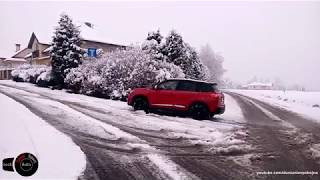 4WD vs 2WD on snow - Suzuki Vitara S vs Renault Captur XMOD - winter tyres vs all season tyres