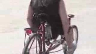 Atomic Zombie Extreme Machines WildKat recumbent bicycle