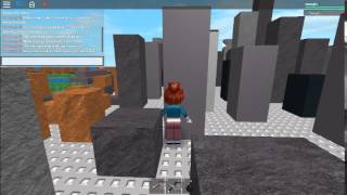 My girl cousin as a giantess in ROBLOX