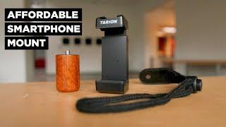 Budget-Friendly Smartphone Mount | Tarion H1 Review
