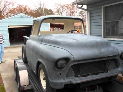 1956 Chevy Pickup For Sale Craigslist >> 1955 Chevy Truck project - YouTube