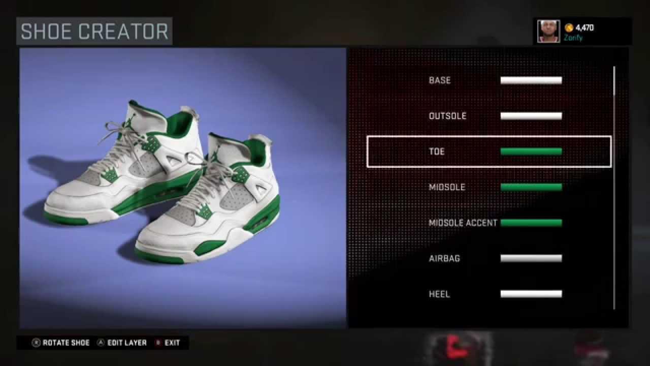 Jordan Shoe Creator Game