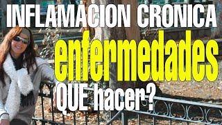 INFLAMACIÓN CRÓNICA / ENFERMEDADES QUE HACER ana contigo