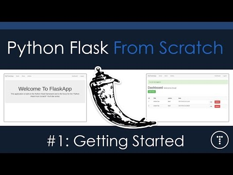 Python Flask From Scratch - [Part 1] - Getting Started