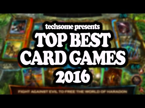 Top Best Card Games 2016 (iOS/Android)