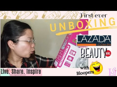 Unboxing Lazada and BeautyMNL with Bloopers