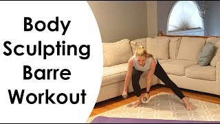 FULL BODY SCULPTING BARRE WORKOUT: (with Dumbbells) FULL 20 MINUTES