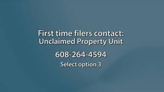 Wisconsin Unclaimed Property -- Reporting Tangible Property