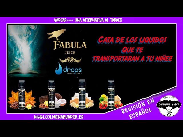 CATA de  los LIQUIDOS de FABULA JUICE