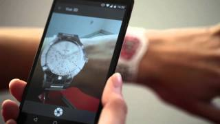 Comment essayer une montre en 3d avec l'appli mode-in-motion