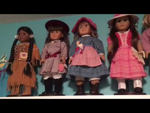 Tour Of My HUGE American Girl Doll Collection