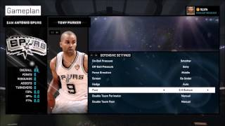 nba 2k15 best defensive settings tips tutorials