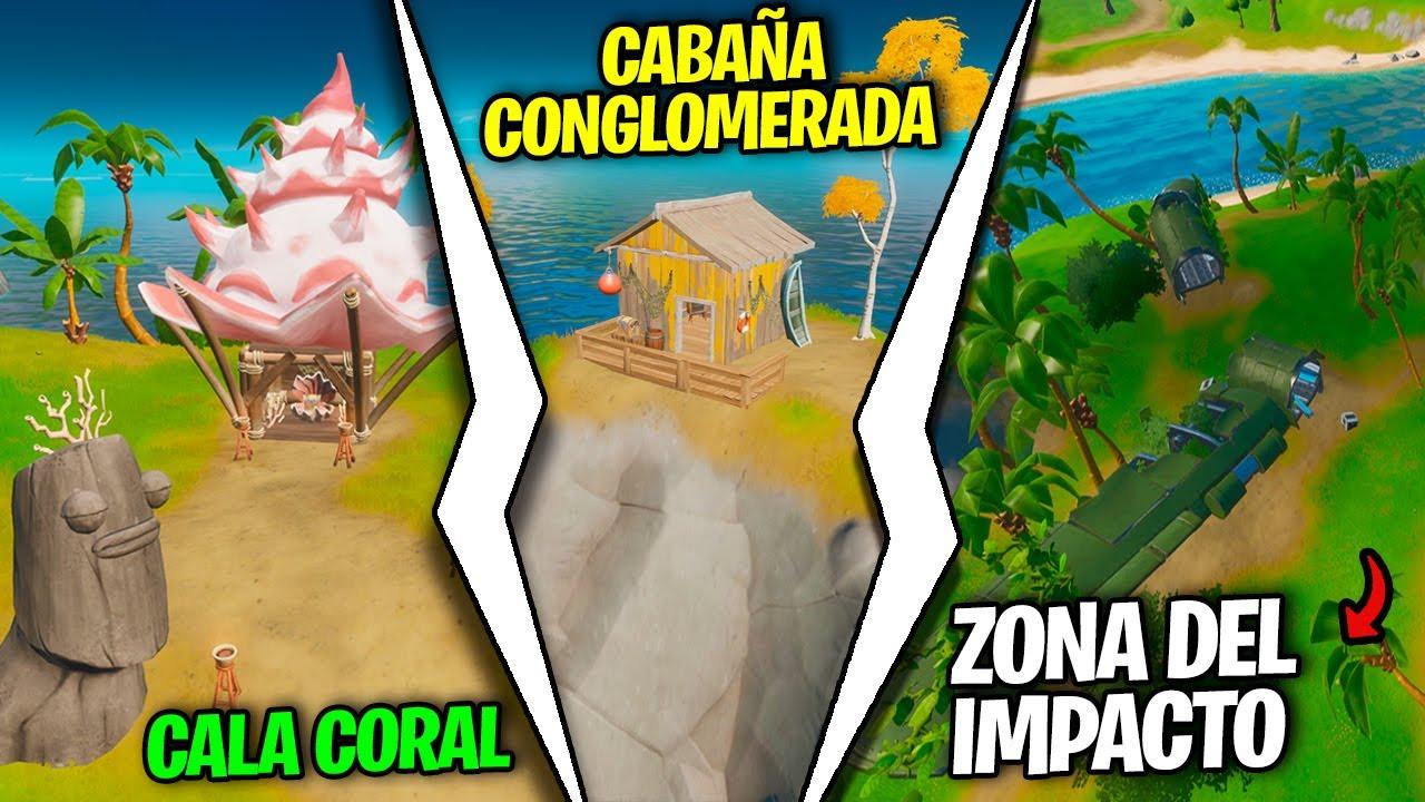 Visita Cala Coral Cabana Conglomerada Y Zona De Impacto Sin Nadar