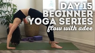 DAY 15/30 Beginner Yoga Series | Back & Shoulder Flexibility