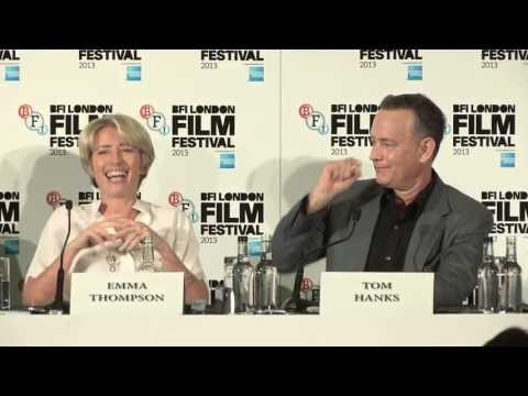 Saving Mr. Banks - Press Conference - includes Tom Hanks, Emma Thompson & Colin Farrell - Part 2