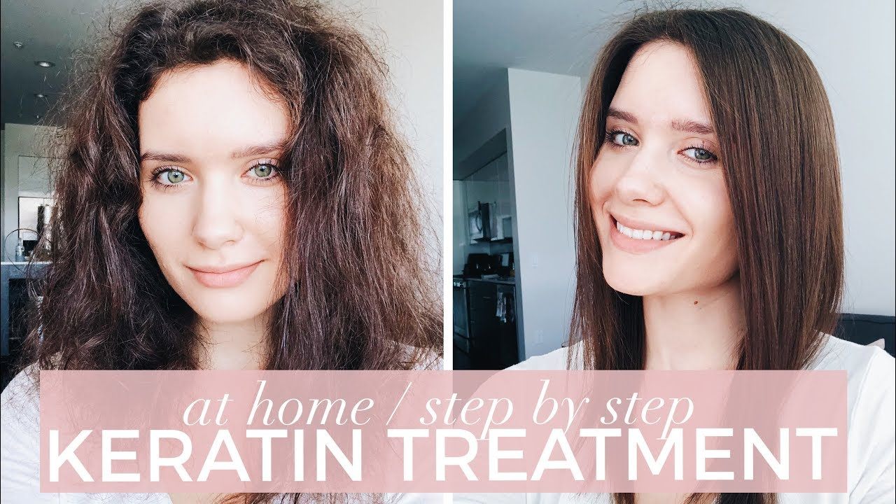 How To Brazilian Blowout Keratin Treatment At Home Step By Step Tips Youtube