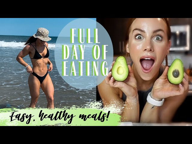 FULL DAY OF EATING TO STAY FIT *realistic*