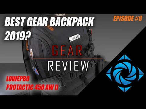 Best Traveling Backpack Lowepro Protactic 450 AW II | Gear Review | Episode #8