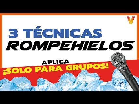 Técnicas para ROMPER EL HIELO en ¡GRUPOS! 🎤 3 DINÁMICAS from YouTube · Duration:  6 minutes 4 seconds