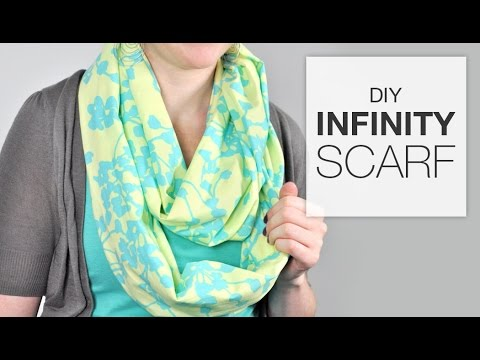 Tutorial How To Sew An Infinity Scarf Youtube