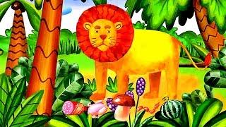 Животные для ДЕТЕЙ | Зоопарк Сафари - по Звериным Следам