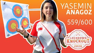 Yasemin Anagoz shoots 559/600 for qualification | Lockdown Knockout