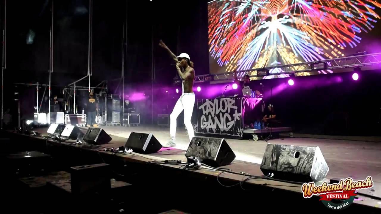 Wiz Khalifa Weekend Beach Festival 2016 Youtube
